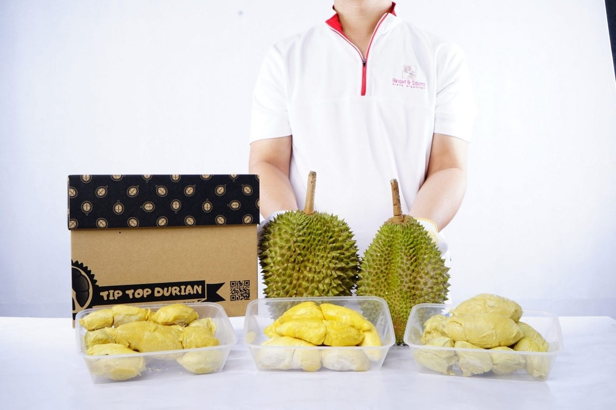 3 pack 101 + Musang King + XO of Tip Top Durian
