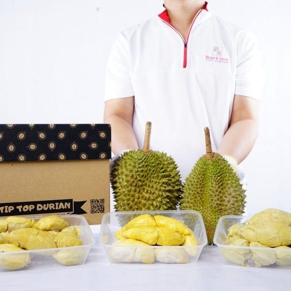 3 pack 101 + Musang King + XO of Tip Top Durian